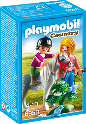 Playmobil Country - Ponyrijden met mama  6950