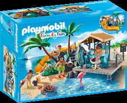 Playmobil Family Fun - Vakantie-eiland met strandbar  6979
