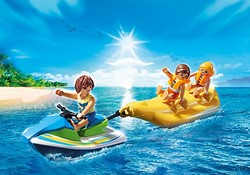 Playmobil  Summer Fun Jetski met bananenboot 6980