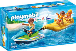 Playmobil Family Fun - Jetski met bananenboot  6980
