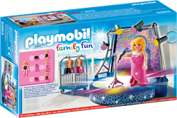 Playmobil Family Fun - Podium met artiste  6983
