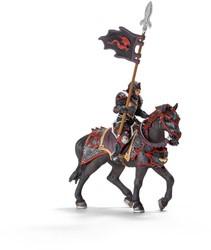 Eldrador draakridder op paard met lans 70102