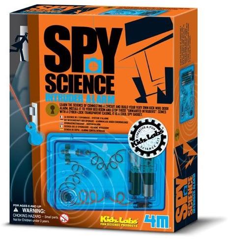 4M  Kidz Labs wetenschap speelgoed Spy science alarm-1