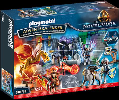 "Playmobil Christmas - Adventskalender """"Ridderduel"""" 70187"