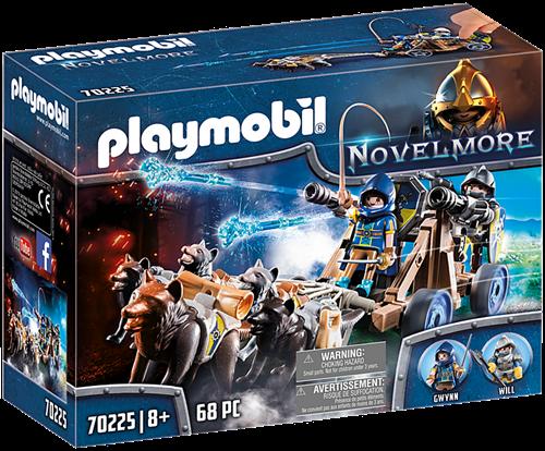 Playmobil Novelmore - Ridders met waterkanon en wolven 70225