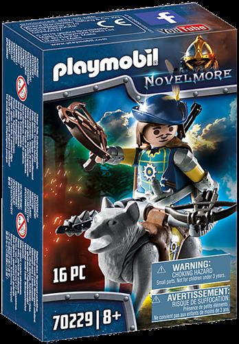 Playmobil Novelmore - Novelmore boogschutter met wolf 70229
