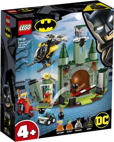 LEGO Super Heroes 4+ Batman en de ontsnapping van The Joker 76138
