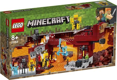 LEGO Minecraft De Blaze brug 21154