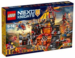 Lego  Nexo Knights set Jestro's Vulkaanbasis 70323