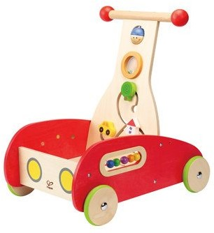 Hape Loopwagen met activity
