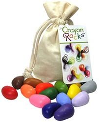 Crayon Rocks 16 kleuren in katoenen zakje