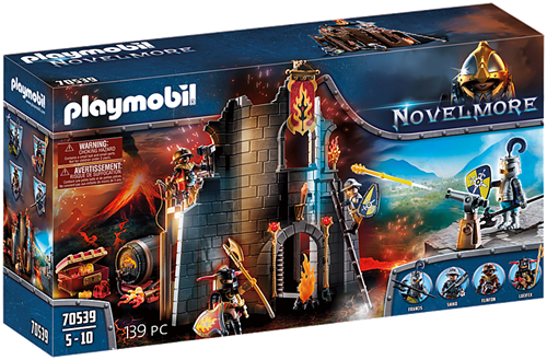 Playmobil Novelmore - Burnham Raiders Vuurruïne  70539