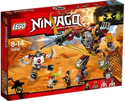 Lego  Ninjago set Redding M.E.C. 70592