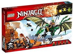 Lego  Ninjago set De groene NRG draak 70593