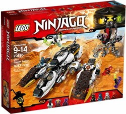 Lego  Ninjago set Ultra stealth raider 70595