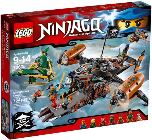 LegoNinjago set Misfortune's keep