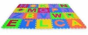 Edushape Edu-Tiles Letters u/c
