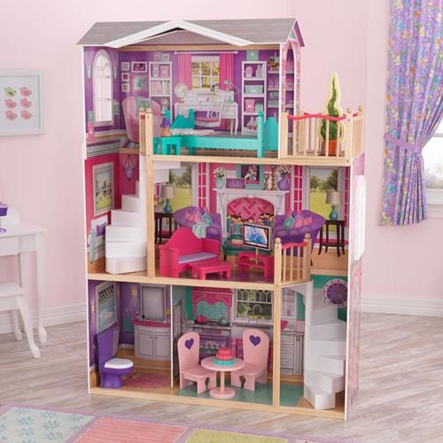 KidKraft Poppenhuis Doll Manor voor poppen van 45 cm