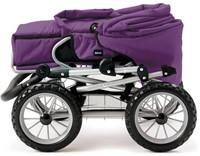Brio  poppen accessoire Poppenwagen Combi - Donkerpaars-2