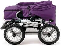 Brio poppenwagen Combi - Donkerpaars-3