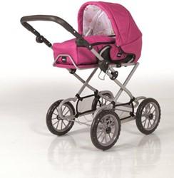 Brio poppen accessoire Poppenwagen Combi Roze