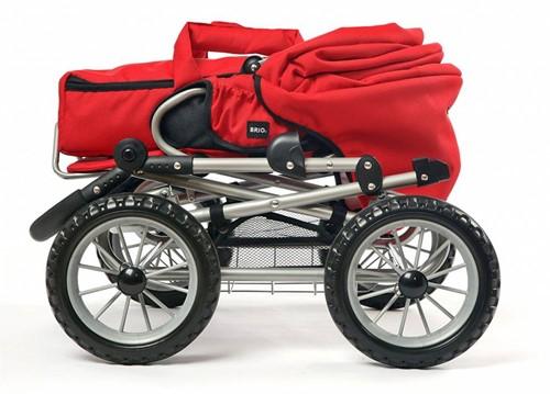 Brio  poppenmeubel Poppenwagen Combi - Rood-2