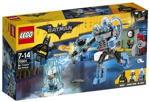 Lego  Batman set Mr. Freeze ijs-aanval Lego 70901