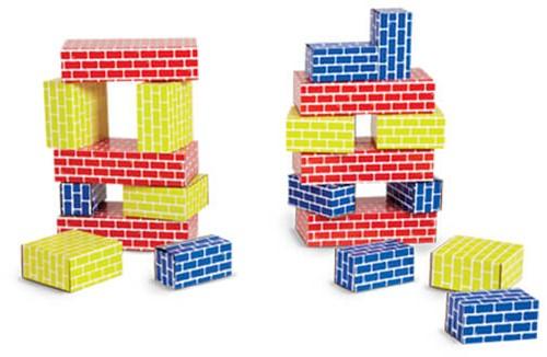 Edushape Corrugated Blocks- 84 pcs