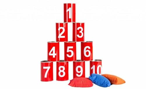 Buitenspeel  buitenspel Blik gooien getallen-1