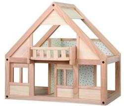 Plan Toys Mijn eerste houten poppenhuis