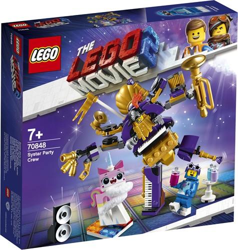 LEGO MOVIE 2 Zusterstelsel feestteam - 70848