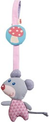 Haba  box en maxi cosi speelgoed Hangfiguur Knuffelvrienden roze 7160
