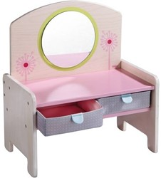 Haba  Lilli and friends houten poppen meubel Kaptafel Paardenbloem 7175