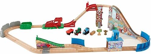 Thomas and Friends  houten trein set Race Delay Relay Set-3