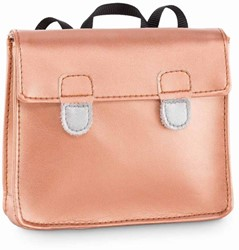Corolle ma Corolle School Bag-Golden Pink