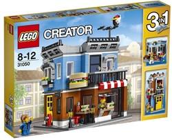 Lego  Creator gebouw Hoekrestaurant 31050