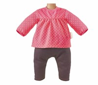 "Corolle poppenkleding Bb14""""Blouse & Denim Raspberry  DMN11-2"