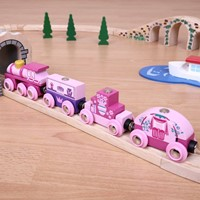 BigJigs Princess Train-2