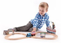 Thomas and Friends  houten trein set Celebration on Sodor Set-2