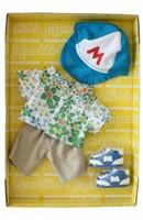 Monchhichi  knuffelpop kleren Boutique A Print Shirt & Baseball Cap-1