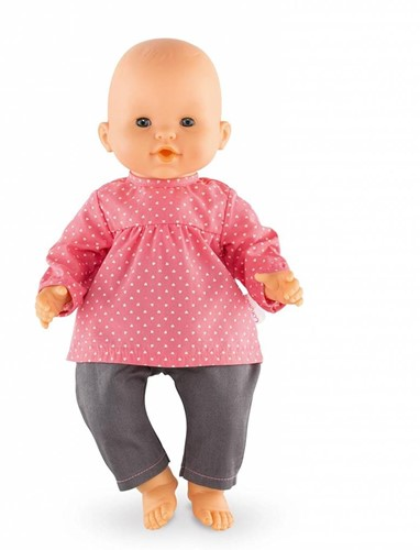 "Corolle poppenkleding Bb14""""Blouse & Denim Raspberry  DMN11-3"