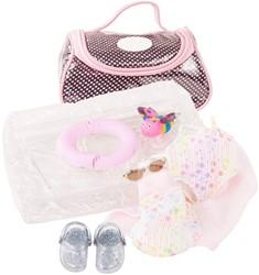 Götz accessoires Babyensemble, splish splash, 9-pcs.