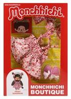Monchhichi  knuffelpop kleren Boutique A - Zomerjurk roze-3