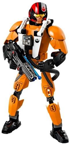 Lego  Star Wars set Poe Dameron 75115-2