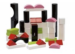 Brio houten bouwblokken 50 stuks 30156