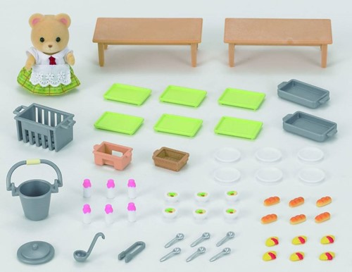 Sylvanian Families Lunch Op School 5108-3