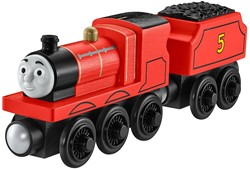 Thomas and Friends  houten trein James