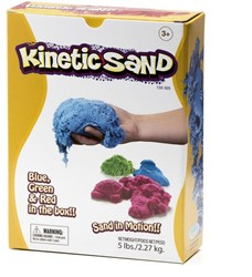 Waba Fun  boetseerset KineticSand Groen, Rood, Blauw