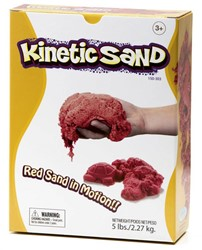 Relevant Play boetseerset Kinetic sand Rood 2,2 kilo