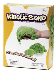 Waba Fun  boetseerset Kinetic sand Groen 2,2 kilo